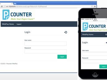 New Pcounter WebPay 2.1