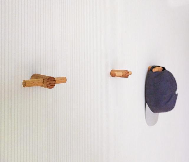 Wooden Wall Hooks, Wooden Decorative Hooks, Modern hooks. T-hook for clothes