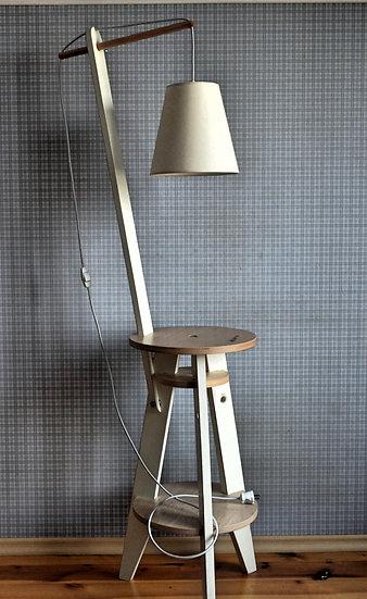 Floor lamp in Scandinavian style, farmhouse floor lamp.