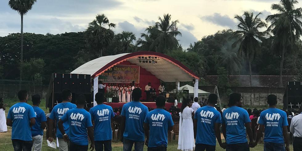 Missionsresa, Sri Lanka