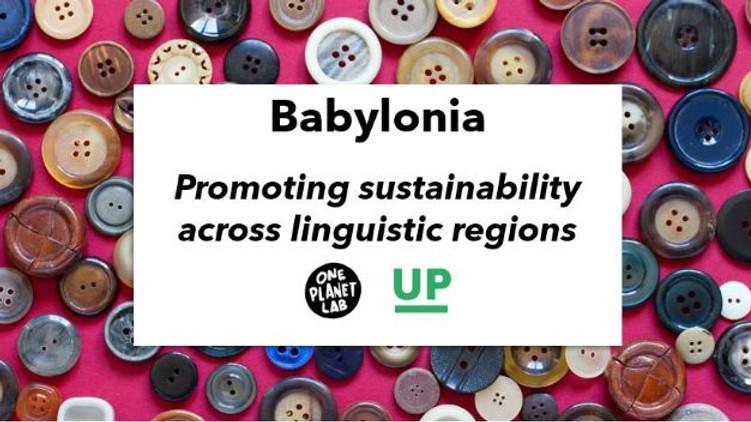 Babylonia: Promoting sustainability across linguistic regions (ENG)