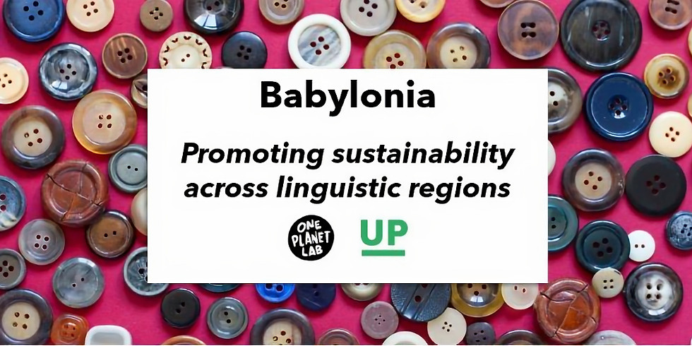 Babylonia: Working across linguistic regions on sustainability