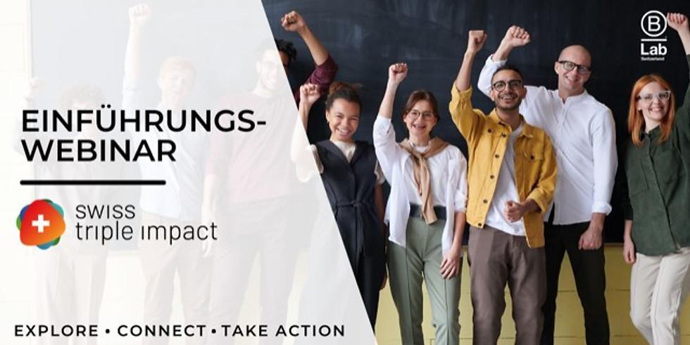 B-Lab: Einführungs-Webinar zum Swiss Triple Impact (STI)-Programm
