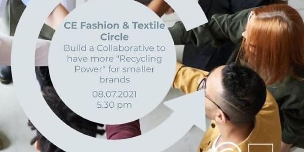 "Impact Hub Zürich: Circular Economy Fashion & Textile Circle - Collaborative for more ""Recycling Power"" for smaller bran"