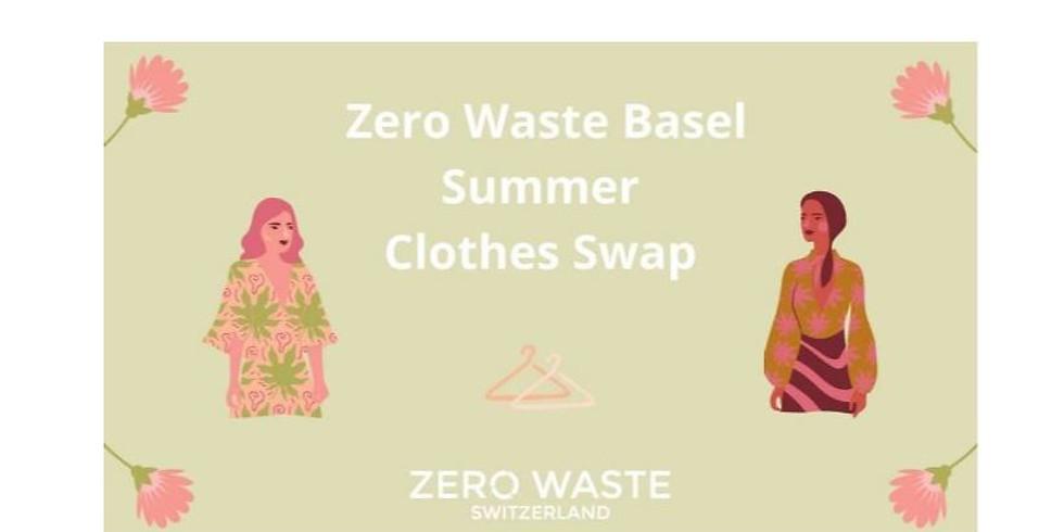 Zero Waste Switzerland: Basel – Summer clothes Swap in the Park