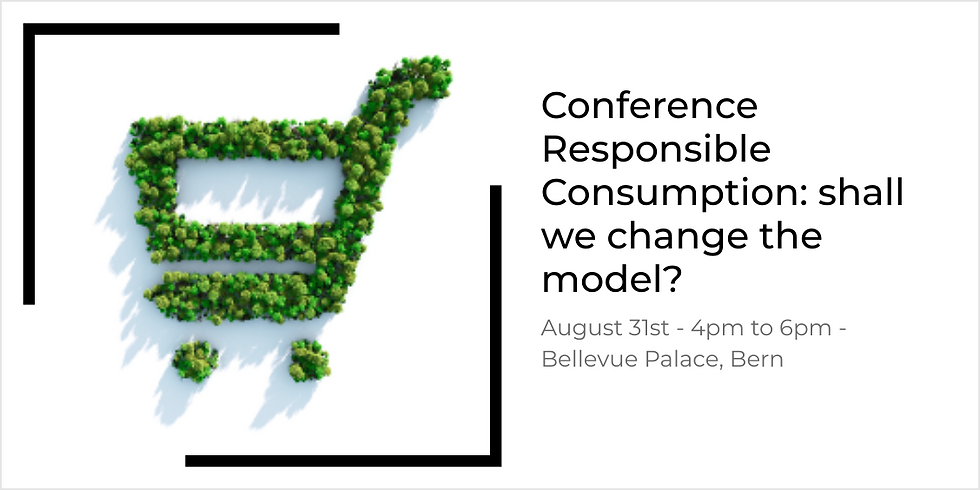 ASSH and E4S: Conference Responsible Consumption: shall we change the model?