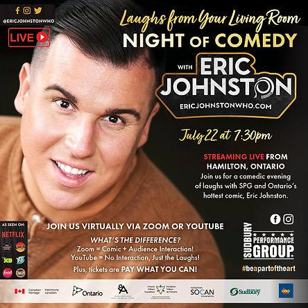 Eric Johnston Comedy Square Promo for So