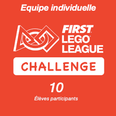 Inscription FIRST LEGO League Challenge REPLAY - Equipe individuelle