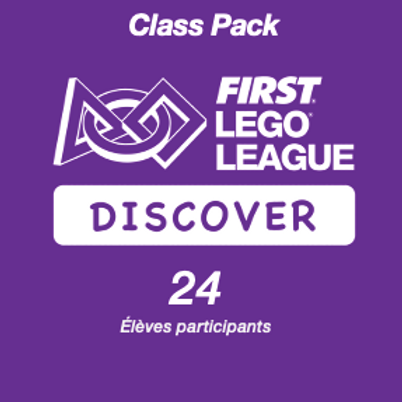 Inscription FIRST LEGO League Discover PLAYMAKERS - Class Pack