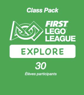 Inscription FIRST LEGO League Explore PLAYMAKERS - Class Pac