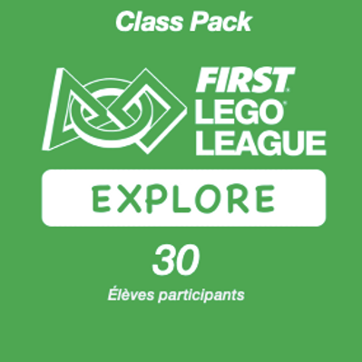 Inscription FIRST LEGO League Explore PLAYMAKERS - Class Pac