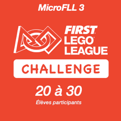 Inscription FIRST LEGO League Challenge REPLAY - MicroFLL 3
