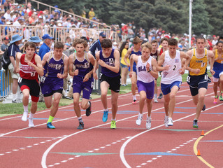 With a nagging injury, Sam Lueders will put his best foot forward at State