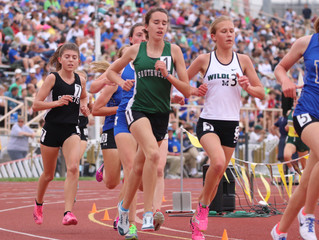 Lindsey Blehm is too busy to run slowly