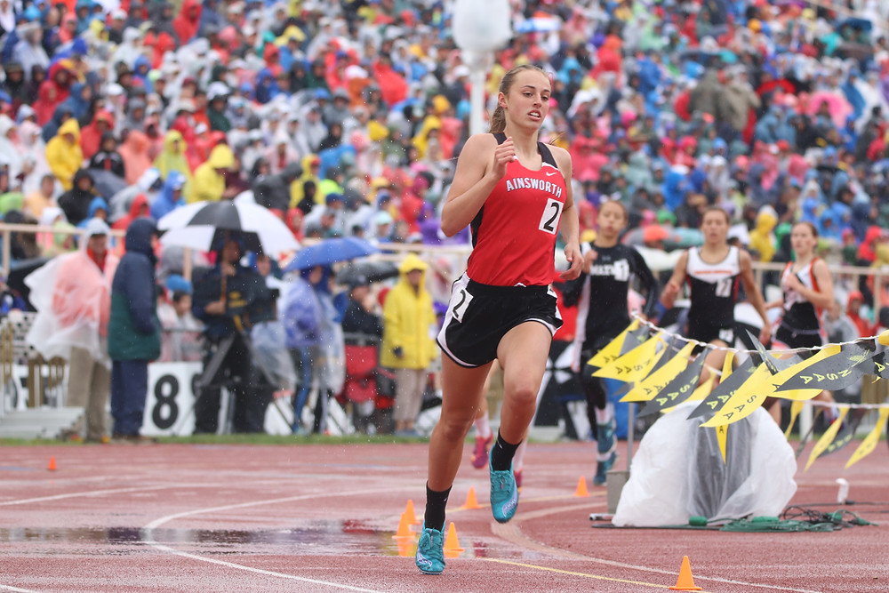 Rylee Rice, 2018 State track meet