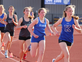 Hannah Godwin finds time for running, softball, art and Oreos