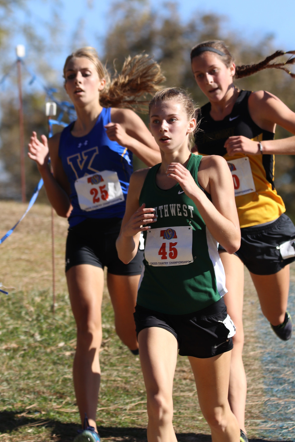 Kate Dilsaver, 2018 State XC meet