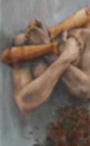 tvrdo drvo (2016) 80x40cm.JPG