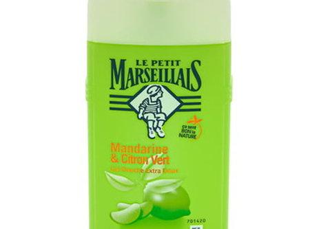 Le Petit Marseillais lait douche 250ml mandarine citron vert