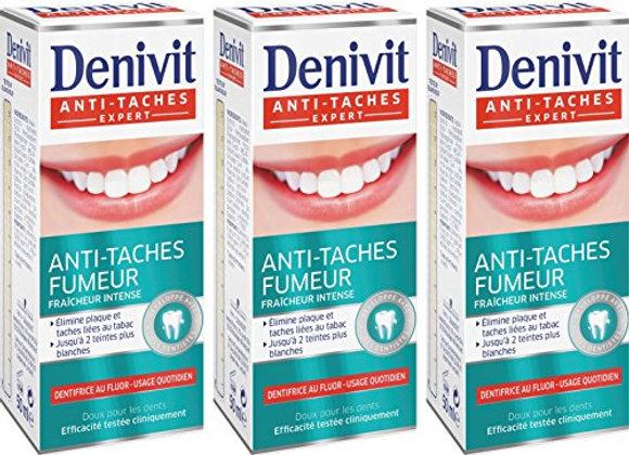 Denivit  3 x dentifrices 50ml Anti-taches