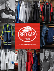 Red Kap, work shirts, work pants, jackets, coveralls, aprons, chef coats, chefwear, jeans.