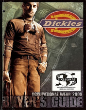 Dickies, work shirts, jeans , work pants, coveralls, polo shirts, jackets, polo shirts, t-shirts, tee shirts, sweatshirts, aprons, hats.