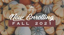 Fall 2021 Enrollment Web