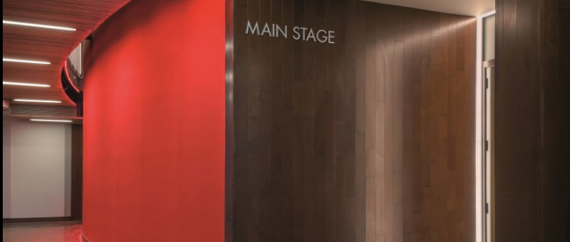 Lobby into the Main Stage theatre