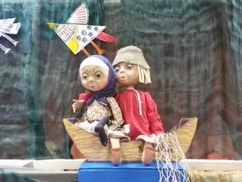Кукольный спектакль «Сказка о рыбаке и рыбке»