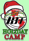 INTERNATIONAL BASKETBALL Christmas logo.