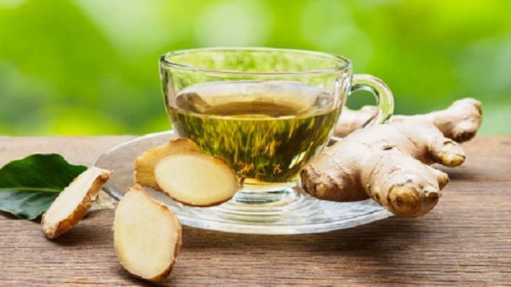 Green Tea and Ginger