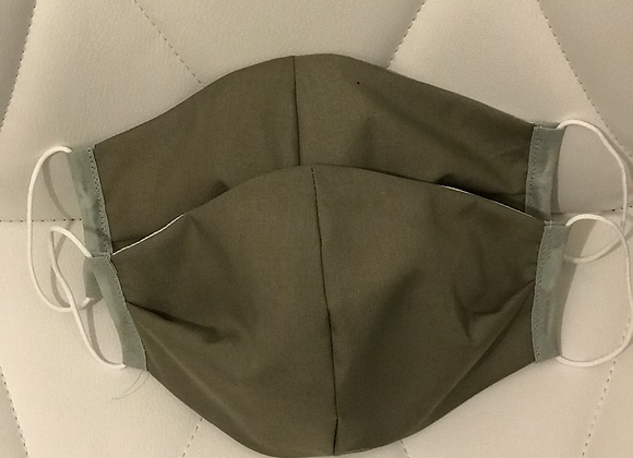 Khaki Green Occasional Face Covering