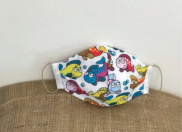 Fish Fabric Face Covering