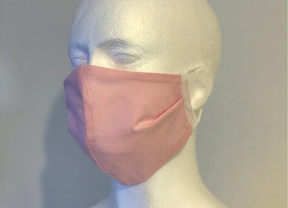 Pretty Pink Fabric Face Covering