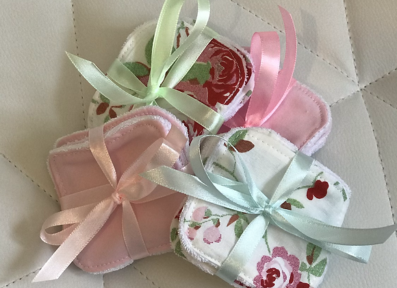 Washable Face Wipes X4