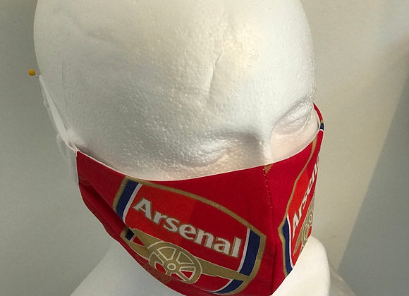 Arsenal FC Fabric Face Covering