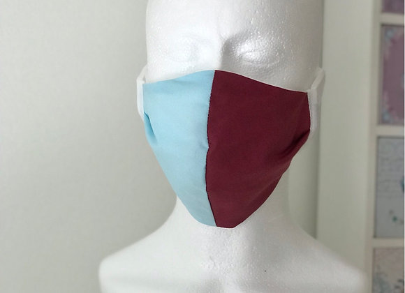 Maroon and blue (West Ham) occasional Face Covering