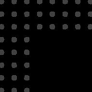 Retângulo feito com bolinhas