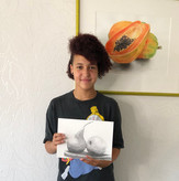 15 Years Old Student | Beginner | Individual lessons | Pencil