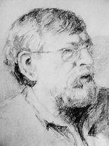 Mijn Vader, een potlood tekening