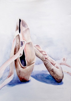 Ballet Shoes / SOLD