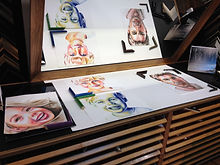 PAINTING, DRAWING, LESSONS, AQUARELLE, PORTRAITS UPON REQUEST, PAINTING COURSES, VOORBURG
