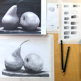 12 Years Old Student | Beginner | Individual lessons | Graphic pencil