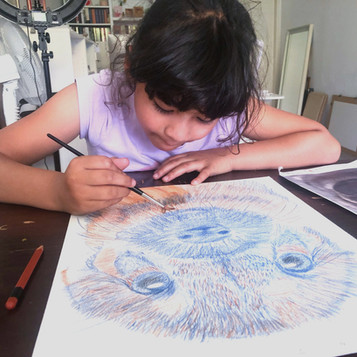 Aquarelle pencils