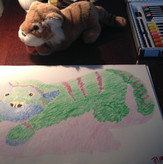 7 Years Old Student | Beginner | Individual lessons | Oil Pastel