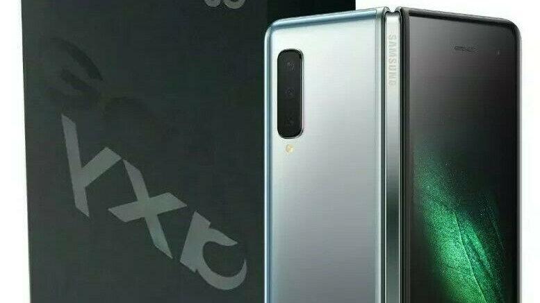 Samsung Galaxy Fold 5G SM-F907B Cosmos Black 512GB Factory Unlocked