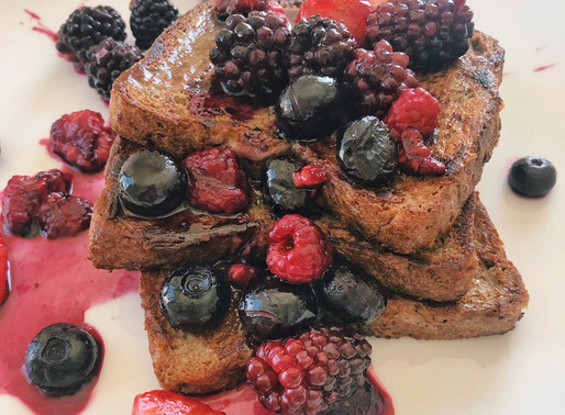 Healthified Plant-Based French Toast