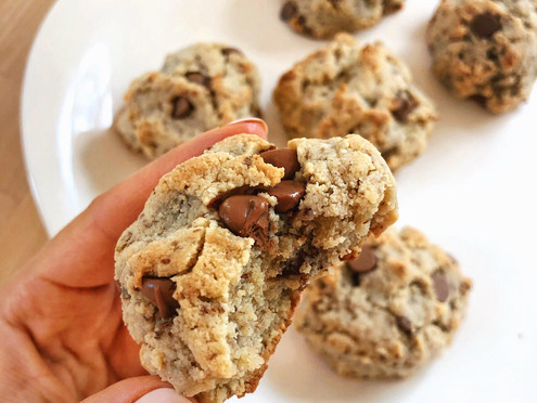The Perfect Vegan + Gluten Free Chocolate Chip Cookie