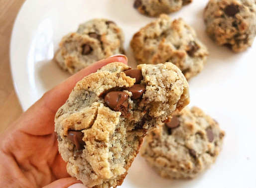 The Perfect Vegan + Gluten Free Chocolate Chip Cookie