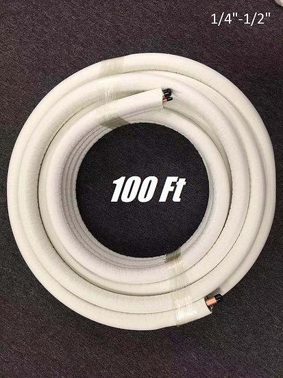 "YMGI Installation Lineset 1/4-1/2"" 100 ft"